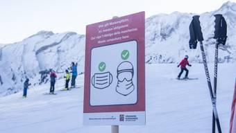 Wo genau sich die Belgierin bei ihren Skiferien in der Schweiz angesteckt hat, ist nicht bekannt. (Symbolbild)