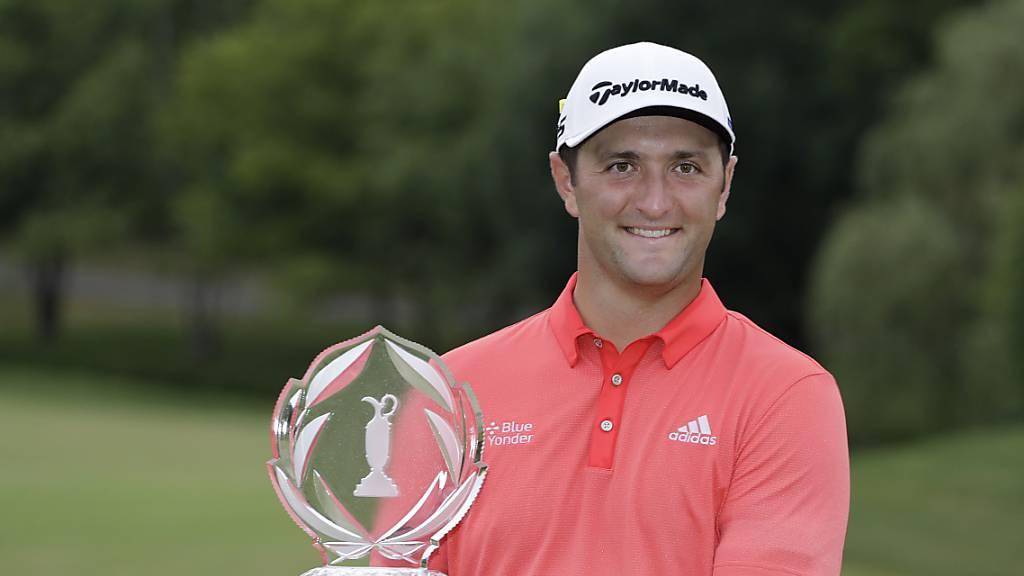 Wechsel an der Weltranglisten-Spitze der Golfer