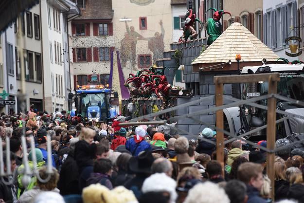 Fasnachtsumzug in Liestal