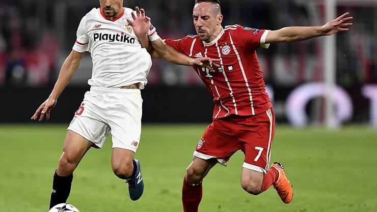 Franck Ribéry (rechts) geht im Sommer in seine zwölfte Saison mit Bayern München