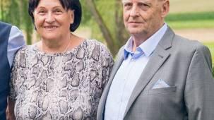 An der Hochzeit von Daniel und Barbara, 3. August 2019