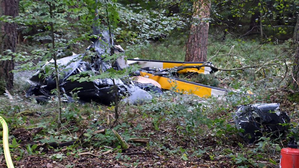 Drei Tote bei Hubschrauberabsturz: «Das Trümmerfeld ist riesig»