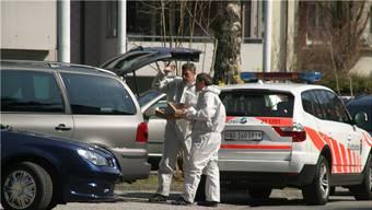 Nach Tötungsdelikten (im Bild in Aarau) ist die Rechtsmedizin gefragt.