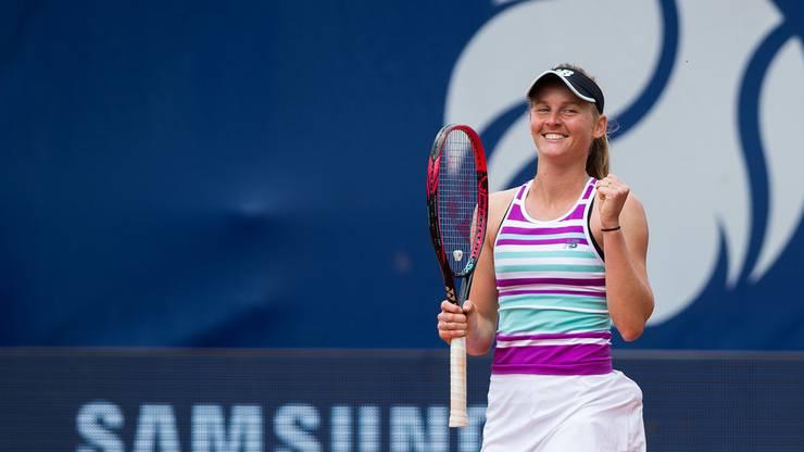Fiona Ferro gewinnt das Turnier von Lausannne.