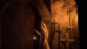 """Der Horrorfilm """"The Nun"""" hat am Wochenende vom 6. bis 9. September 2018 am meisten Publikum in die Deutschschweizer Kinos gelockt. (Archiv)"""