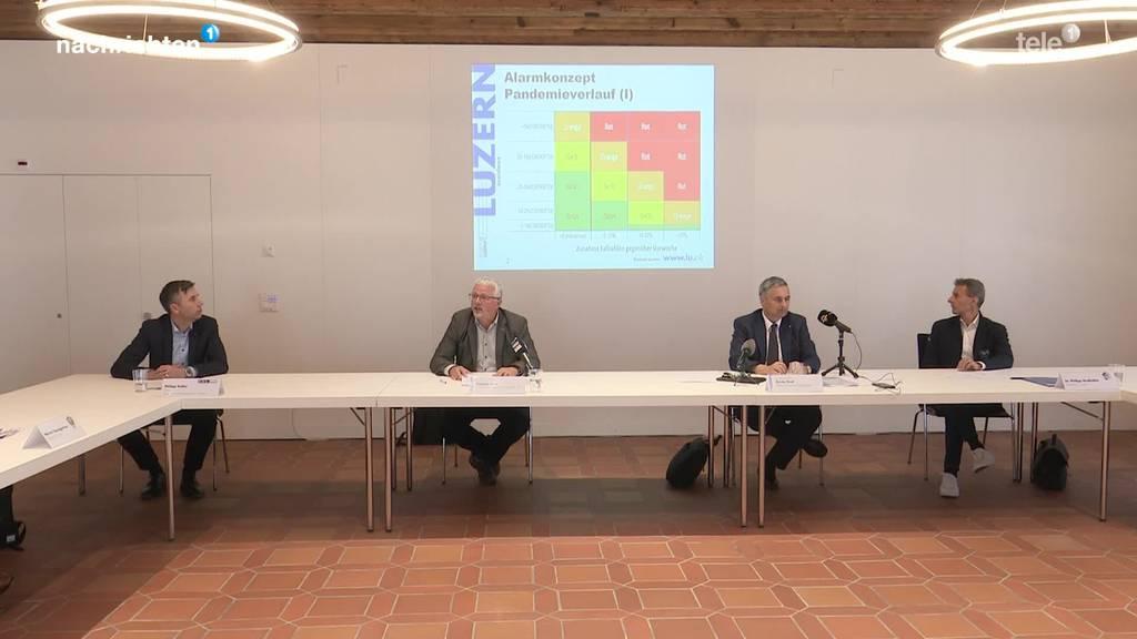 Die Luzerner Kantonsregierung informiert über das Schutzkonzept bei Grossveranstaltungen