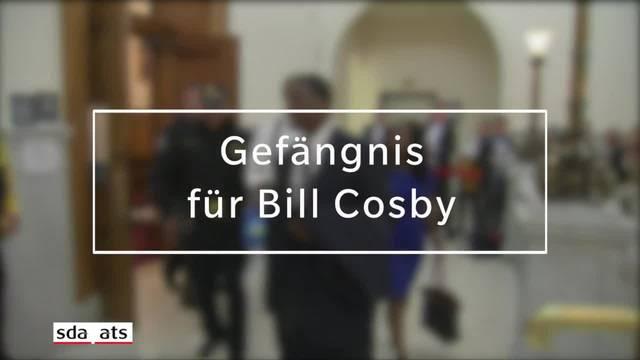 Bill Cosby muss drei bis zehn Jahre ins Gefängnis