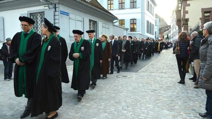 Am diesjährigen Dies academicus feiert die Universität Basel ihren 554. Geburtstag.