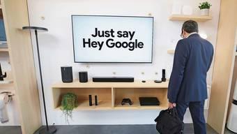 «Hey Google, das war nicht für dich!» Mit diesem Kommando soll Gesagtes auf vernetzten Geräten gelöscht werden.
