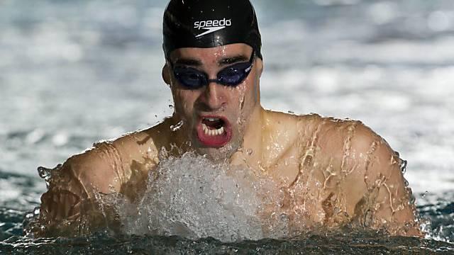 David Karasek zerriss über die 200 m Lagen keine grossen Stricke