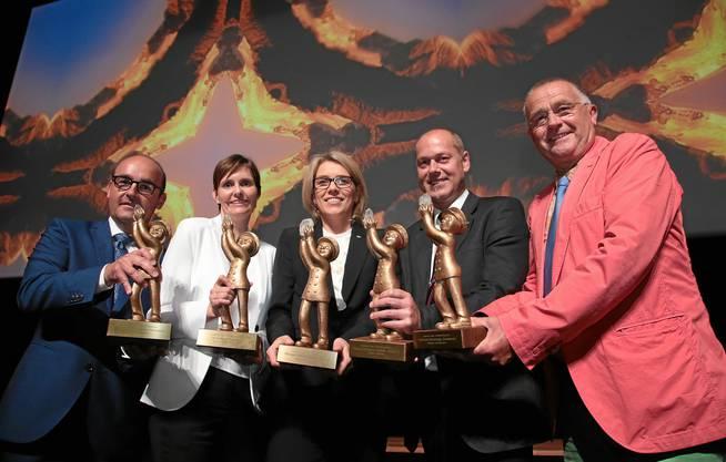Die Gewinner des Prix Bienvenu 2014
