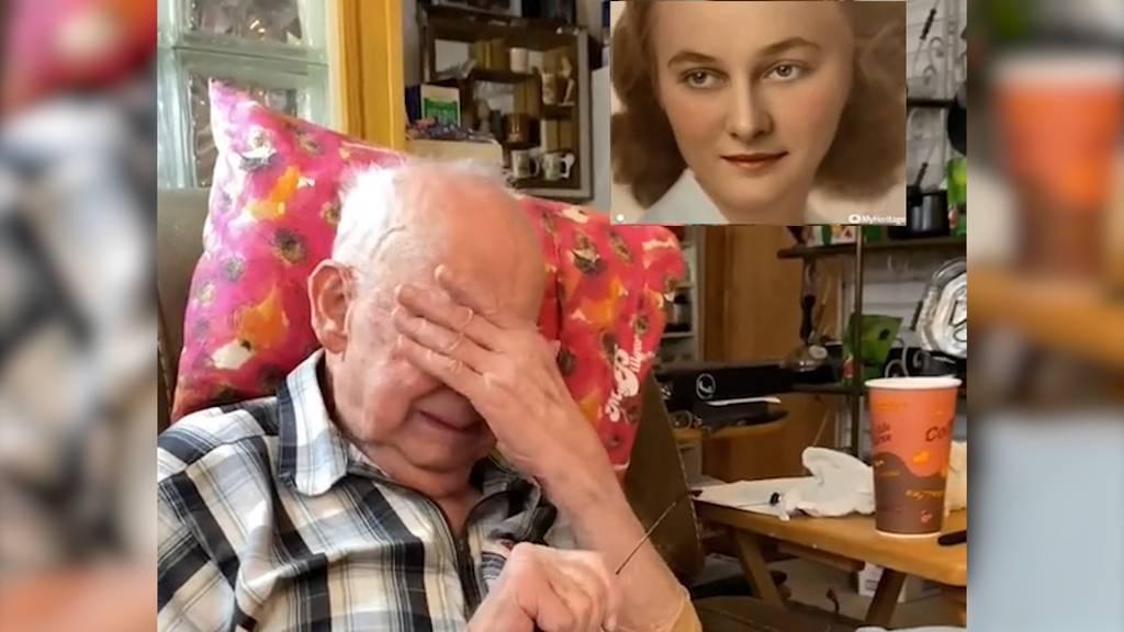 «Papa Jake» sieht seine verstorbene Frau und kämpft mit den Tränen