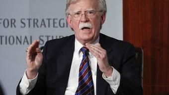 Der einstige nationale Sicherheitsberater von US-Präsident Donald Trump, John Bolton, kritisiert die nutzlose Vorgehensweise der USA im Fall von Nordkorea. (Archivbild)
