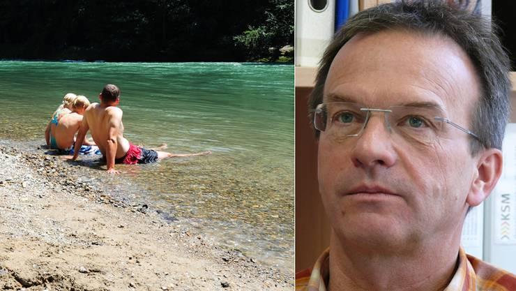 Schulleiter Louis Isenmann zeigt sich tief betroffen von dem Badeunfall