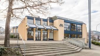 Das Gemeindezentrum Brühlmatt. Fotografiert am 14. Februar 2018.
