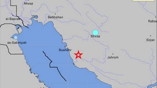 Epizentrum in der Nähe der iranischen Stadt Buschehr