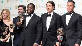 """Regisseur McQueen flankiert von """"12 Years A Slave""""-Produzenten"""