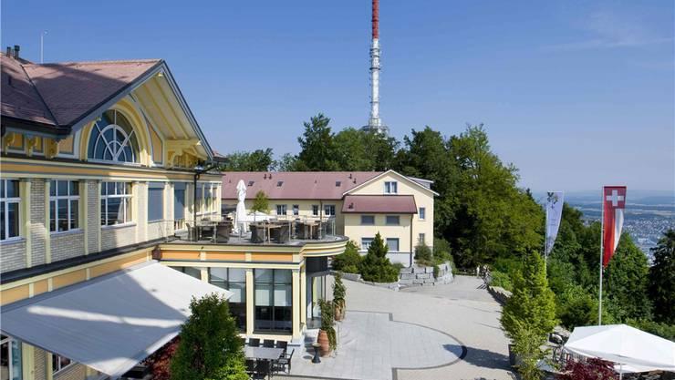 Das Hotel Uto Kulm.