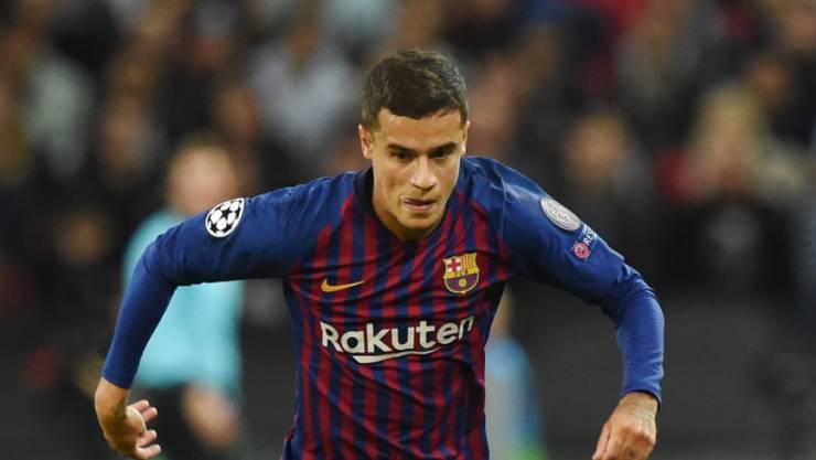 In Barcelona noch nicht wirklich glücklich geworden: Philippe Coutinho