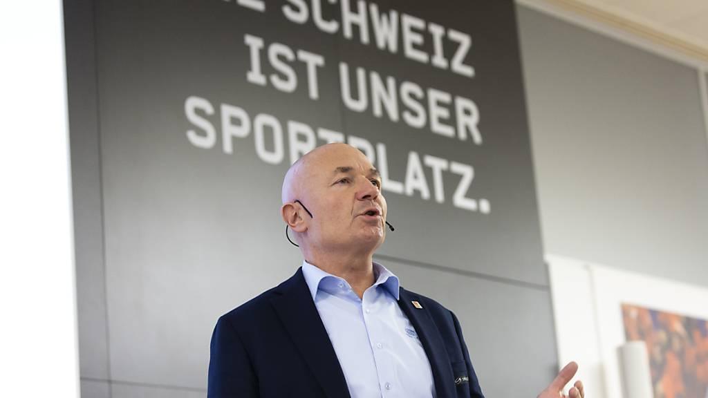 Schweizer Eishockey-Führung appelliert an Bundesrat