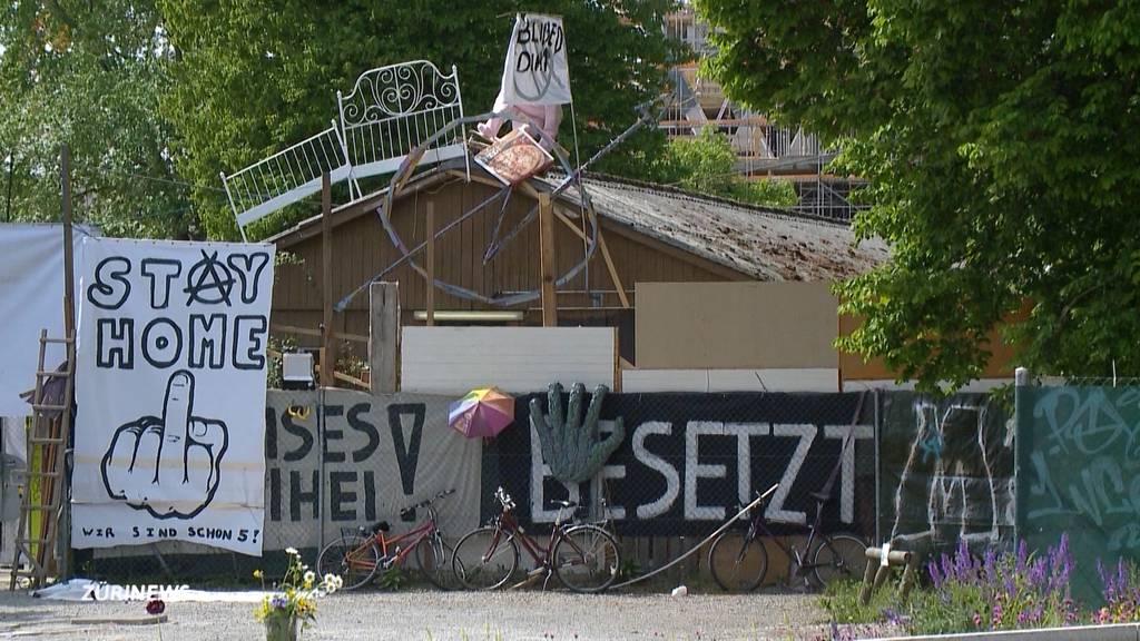 Stadt Zürich zieht Ultimatum an Juch-Besetzer zurück