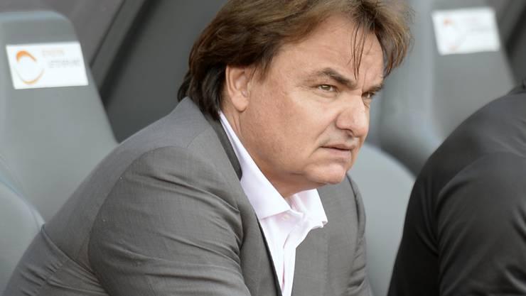 Sions Präsident Christian Constantin hat neuen Trainer gefunden