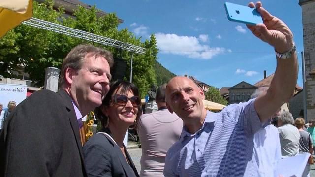 Bundesrat besucht Schneider-Ammanns Heimat
