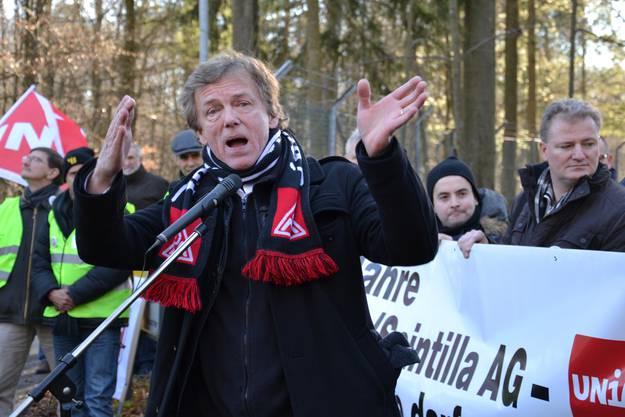 Gewerkschafter Uwe Meinhardt