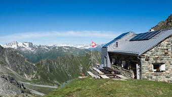 6 Prozent mehr Gäste kamen, um in der Medelserhütte im Bündnerland zu übernachten.