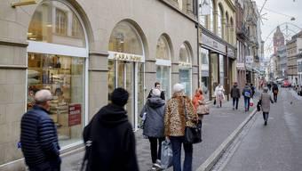 In der Freie Strasse Basel gibt es weniger Leerstand als angenommen