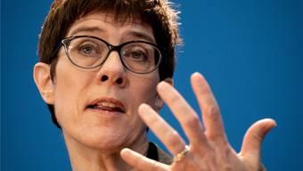 In der Kritik: CDU-Chefin und mögliche Kanzlerkandidatin Annegret Kramp-Karrenbauer. DPA/Keystone