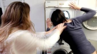 Viele Streitereien zwischen Nachbarn drehen sich um die gemeinsame Waschküche. (Symbolbild)