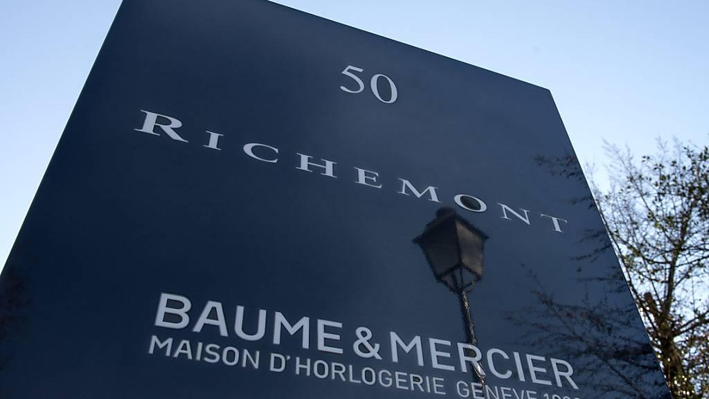 Der CEO des Luxusgüterkonzerns Richemont erhält ein stolzes Salär. (Archivbild)