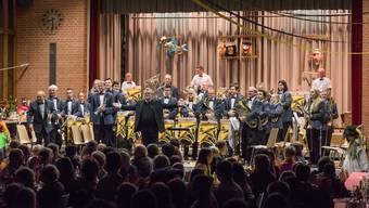 Die Brass Band Kappel unter der Direktion von Olivier Waldmann konnte viel Applaus ernten.