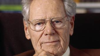 Geistiger Vater der Weltethos-Idee: Theologe Hans Küng (Archiv)
