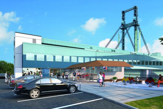 So wird sich die vor 47 Jahren eröffnete Raststätte Würenlos nach dem Ausbau präsentieren. Dieser dauert noch rund sechs Wochen.