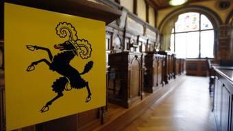 Kantonsratssaal im Rathaus in Schaffhausen (Archiv)