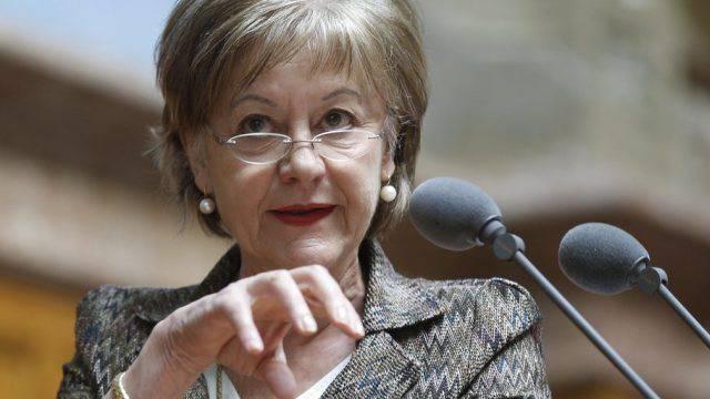 Nationalrätin Susanne Leutenegger Oberholzer im Nationarat (Archiv)