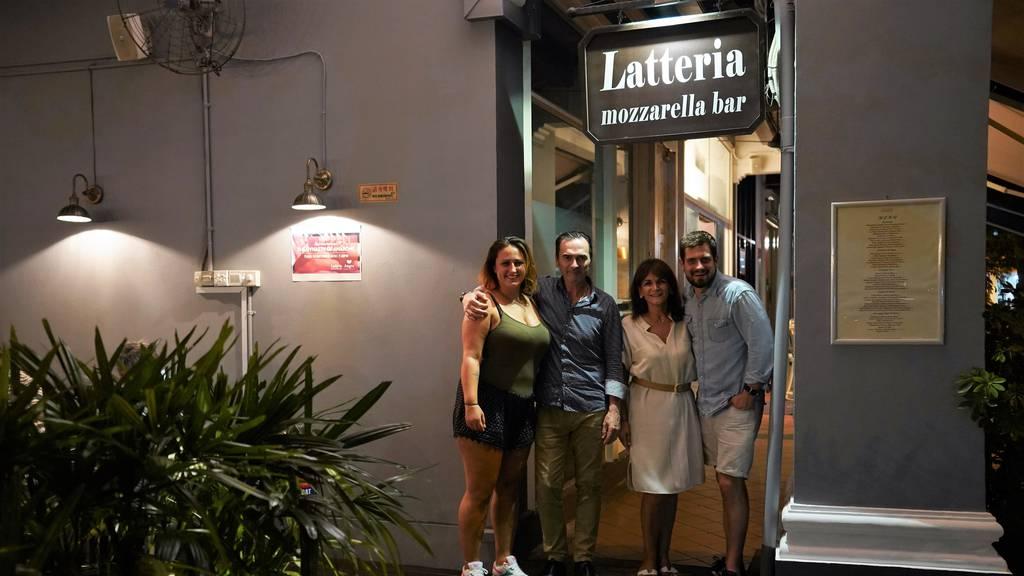 Zu Besuch in der Latteria Mozzarella Bar