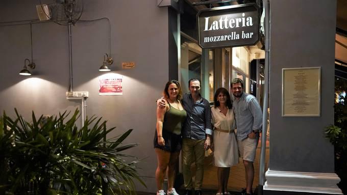 SINGAPUR Giusi und Peter von der Latteria Mozzarella Bar