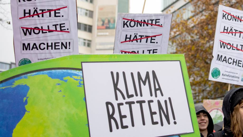 Fridays for Future demonstriert trotz Corona wieder fürs Klima