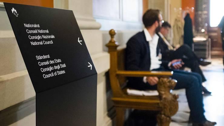 Wo geht es eigentlich lang? Eine Gesamtschau soll den Bundespolitikern den Weg weisen. (Bild Manuel Lopez/Keystone)