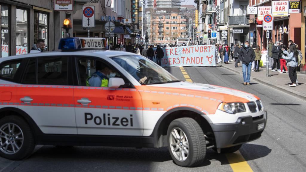 Frauen-Demo in Zürich aufgelöst - keine Sachbeschädigungen