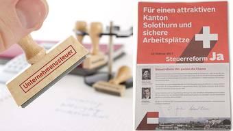 Roland Heim und Esther Gassler hatten für die Steuerreform Werbung gemacht.