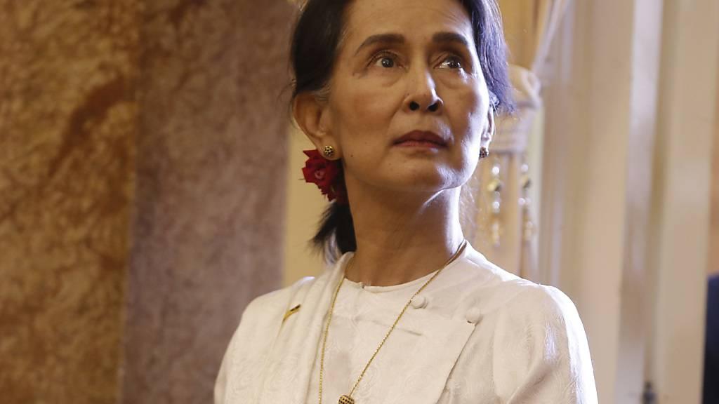 Friedensnobelpreisträgerin Aung San Suu Kyi festgesetzt