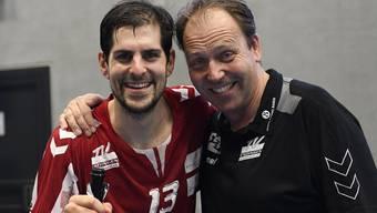 TVE-Geschäftsführer Christian Villiger (r.) hat gemeinsam mit den Verantwortlichen des Turnvereins einen Prozess zur Neuorganisation der GmbH gestartet.