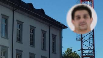 Mit Leintüchern seilten sich die beiden rumänischen Häftlinge im vergangenen Juli vom Bezirksgefängnis Baden ab.