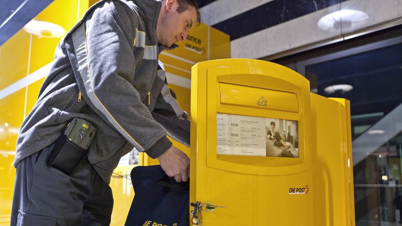 Briefkasten Post