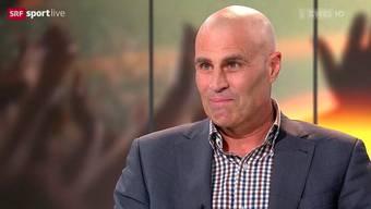Andy Egli zeigt sich rasiert im TV: Der ehemalige Spitzenfussballer und heutiger Fussballexperte hat Krebs.