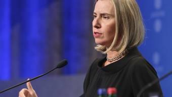 """""""Es gibt keinen Grund, nachzuverhandeln"""": Die EU-Aussenbeauftrage Federica Mogherini zum Atomabkommen mit dem Iran. (Archivbild)"""